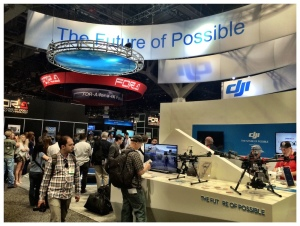 DJI Booth at NAB